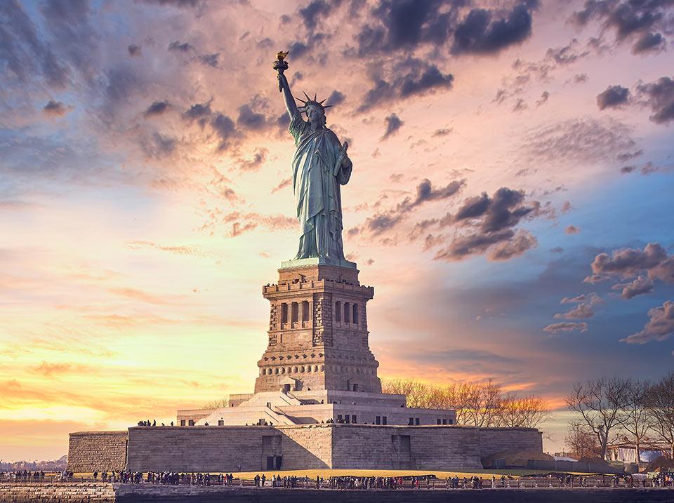 sejour linguistique statue liberte new york