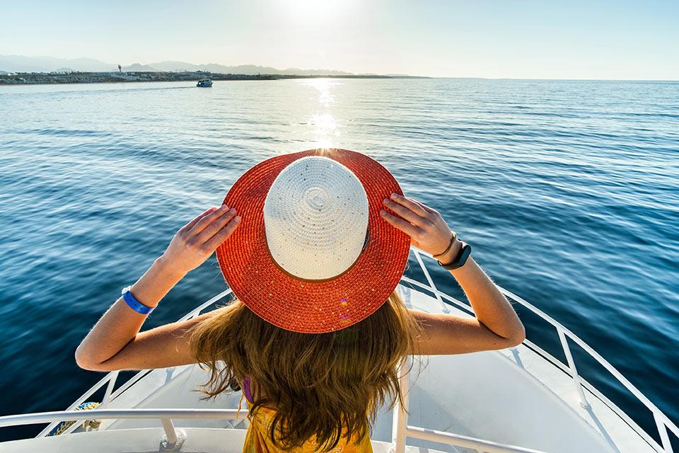 croisiere de luxe sur petit bateau