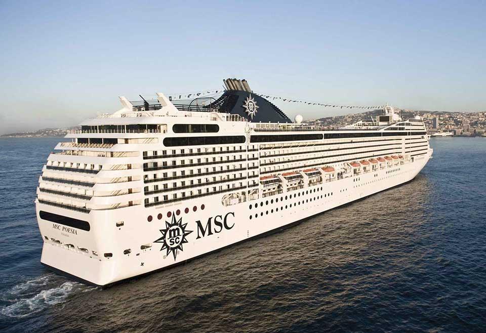 bateau croisière MSC pesia